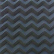 Espuma Acustica Pu Perfilada - Senoidal - Cor Cinza Grafite esp. 70mm ( M2)