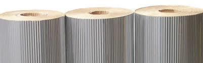Aluminio Corrugado esp. 0,40 com barreira (rolo)