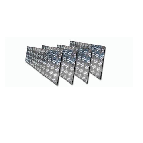 Chapa Xadrez de Alumínio esp. 2,2mm - 3,00 x 1,00m (Peça)