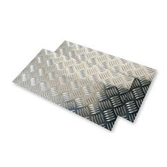 Chapa Xadrez de Alumínio esp. 2,7mm - 2,50 x 1,00m ( Peça)
