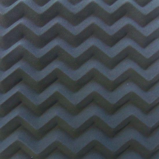Espuma Acustica Pu Perfilada - Senoidal - Cor Cinza Grafite esp. 50mm ( M2)