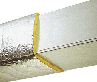 Manta Lã de Vidro Aluminizada Isoflex RT 1.0 esp. 38mm (30m2) - Isover