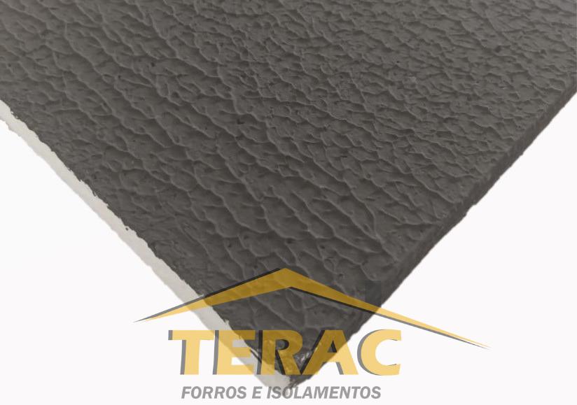 Forro de isopor Texturizado Preto 1.250 x 625 x 20mm (Caixa)
