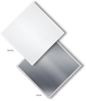 Forro Gesso Removivel Com Pelicula De Pvc  Gypclean 625 x 625 x 8mm (caixa)