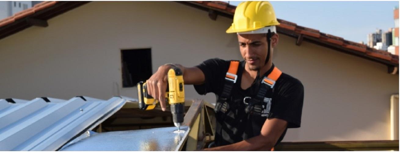 Isolante Térmico 3TC para Telhado esp. 10mm -  16 x 1,25m  ( Rolo) + Fita Aluminizada