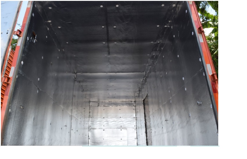 Isolante Térmico 3TC para Caminhões   esp. 10mm -  16 x 1,25m  ( Rolo) + Fita Aluminizada