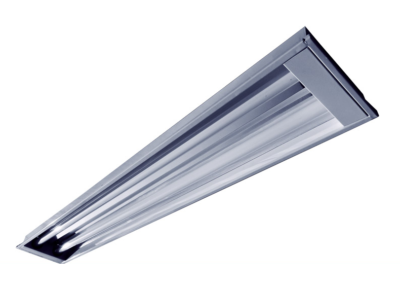 Luminária de Embutir para Forro Modular e Gesso 1242 x 140 x 70mm