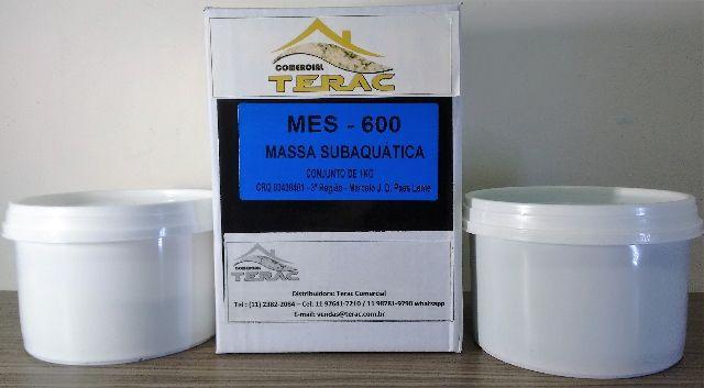 Massa Epoxi para reparo em piscina - Kit 1kg