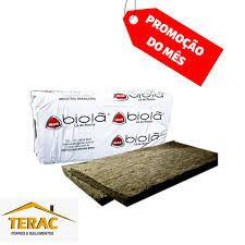 Painel lã de rocha D. 96 x 50mm (pct)-Ibar