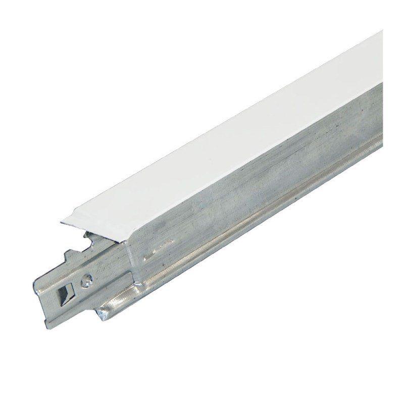 Perfil para Forro Aço T Clicado Travessa 24 x 625mm (Pç) Branco - Terac
