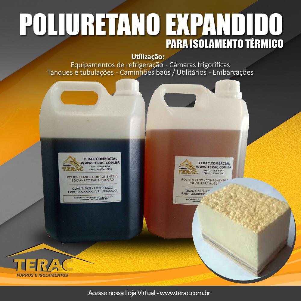 Poliuretano liquido bi-componente A+ B 6kgs