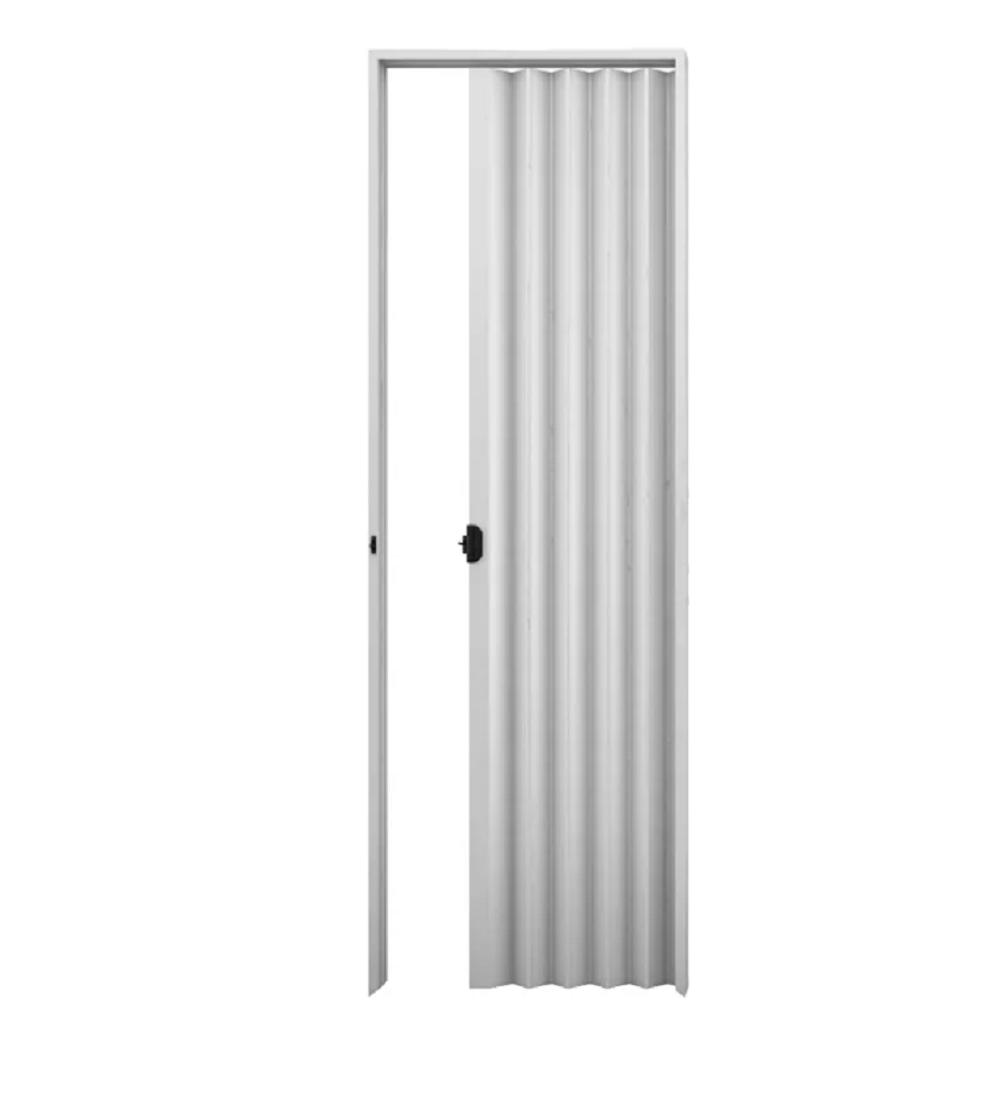 Porta Sanfonada Plasbil Cinza 210cm