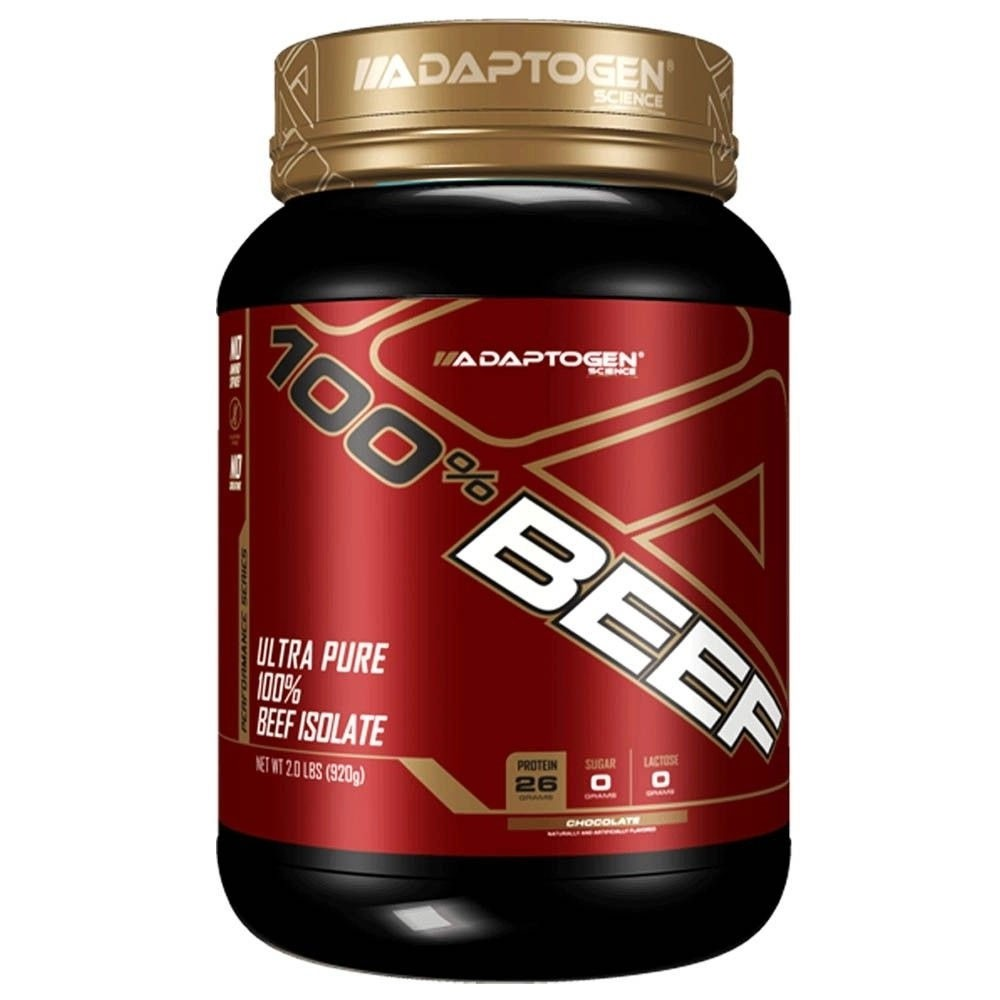 100% Beef 2 Lbs  Chocolate - Adaptogen  - KFit Nutrition