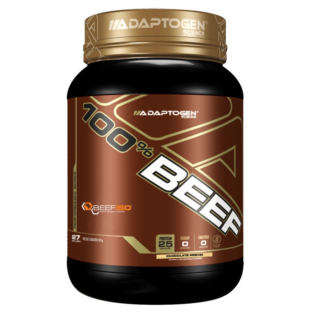 100% Beef 2LBS - Chocolate Mocha Adaptogen  - KFit Nutrition