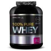 100% Pure Whey 2kg Morango Probiótica