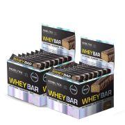 2 Caixa de Whey Bar Morango Probiótica 24 unidade cada