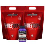 2 Un Super Whey 900g Chocolate + Creatina 300g