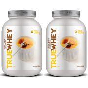 2 Un True Whey Vanilla Creme Brulle 837g - Proteina Isolada