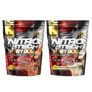 2Un Nitro Tech 454G (1 Un D/ Chocolate 1 Un Vanilla Cream)