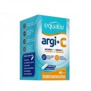 Arginina e Vit C 60cáps - Equaliv