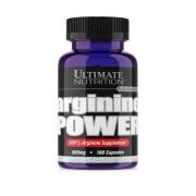 Arginine Power 800mg 100 Caps - Ultimate Nutrition