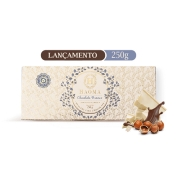 Barra Chocolate Branco com Recheio Avela 250g - Haoma