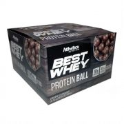 Best Whey Protein Ball Chocolate ao Leite (CX 12 Unidades 50g)