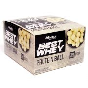Best Whey Protein Ball Chocolate Branco (CX 12 Unidades 50g)