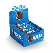 Bold Bar Cookies e Cream Nova Fórmula Cx 12 Un 720g