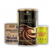Cacao Whey 900g + Supercoffee Chocolate + Morning Shot