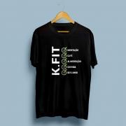 Camiseta K.fit Checklist Feminina
