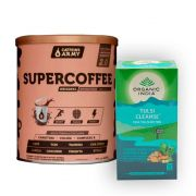 Chá Tulsi Cleanse Detox 25 Sachês + Supercoffee 220g