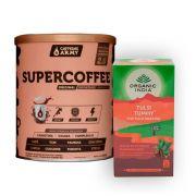 Chá Tulsi Digestão 25 Sachês + Supercoffee 220g