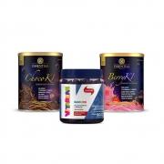Chocoki 300g Essential e Berryki 300g Essential e Vitabear 60 Gomas Frutas