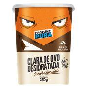 Clara De Ovo Desidratada Sabor Chocolate 250g Proteína Pura