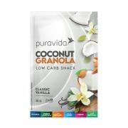 Coconut Granola Classic Vanilla 30g - Puravida