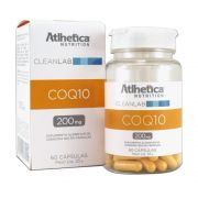 Coenzima Q10 200mg 60 cápsulas Atlhetica Nutrition