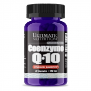 Coenzyme Q-10 100mg 30 Caps  - Coq-10 Ultimate Nutrition