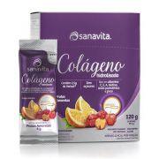 Colágeno Hidrolisado Verisol Frutas Amarelas 30 Sachês - Sanavita