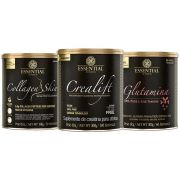 Collagen Skin Natural + Crealift + 100% Glutamine
