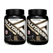 Glutamine Fermentada 1000g 2 Un Adaptogen + Bottle