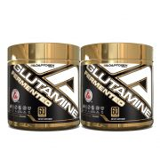 Glutamine Fermentada 300g 2 Un Adaptogem + Bottle