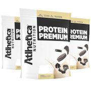 Protein Premium Cookies 1,8Kg 3 Un  Atlhetica