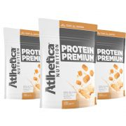 Protein Premium Peanut Butter 1,8Kg 3 Un Atlhetica