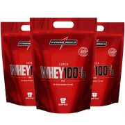 Super Whey 100% Cookies 900g 3 Un  Integral Medica