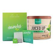 Combo Desinchá 60 Dias + Juiced Up Matcha Limão 200g Nutrify