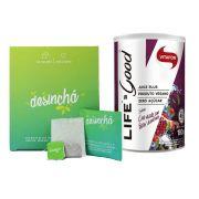 Combo Desinchá 60 Dias + Life's Good 180g Vitafor
