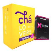 TeaFina 60 Sachês + X-Tea 20 Sticks Atlhetica