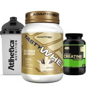 Combo Tasty Whey 2 LB Cookies +  Creatina 300g Op + Bottle
