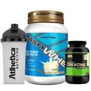 Combo Tasty Whey 2 LB Vanilla +  Creatina 300g Op + Bottle